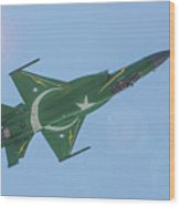 Thunder Over Arabian Sea Wood Print