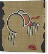 Thunderbeings Wood Print