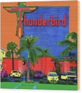Thunderbird Wood Print