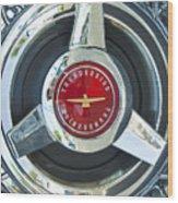 Thunderbird Rim Emblem Wood Print