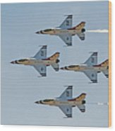 Thunderbirds 1-4 Turning 2627 Wood Print