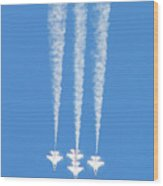 Thunderbirds Of The Usaf Wood Print