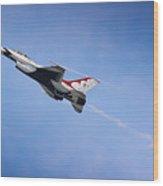 Thunderbirds Soar Wood Print