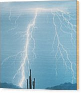 Thunderbolts From Heaven Wood Print