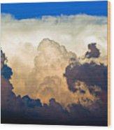 Thunderhead Cloud Wood Print