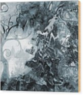 Thunderstorm Wood Print