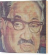 Thurgood Marshall Wood Print