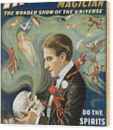 Thurston The Great Magician Wood Print