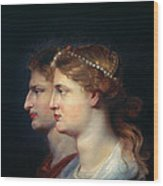 Tiberius & Agrippina Wood Print
