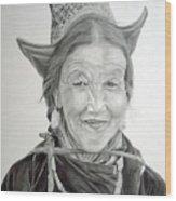 Tibetan Delight Wood Print