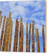 Tickling Heaven Wood Print