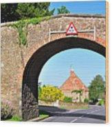 Ticknall Tramway Bridge Wood Print