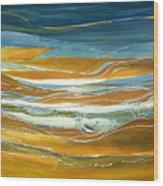 Tidal Flow Wood Print