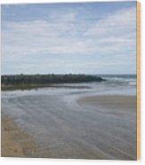 Tide Flats 2 Wood Print