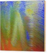 Tie Dye Wood Print