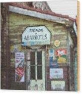 Tienda De Abarrotes Wood Print