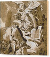 Tiepolo: Saint Jerome Wood Print