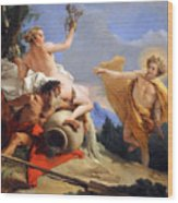 Tiepolo's Apollo Pursuing Daphne Wood Print
