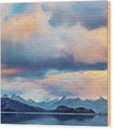 Tierra Del Fuego Wood Print