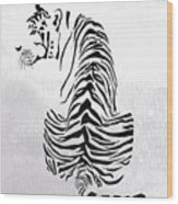 Tiger Animal Decorative Black And White Poster 4 - By  Diana Van Wood Print