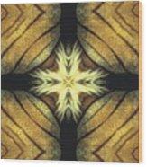 Tiger Cross Wood Print