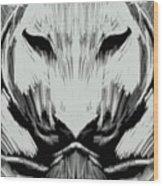 Tiger No.7 Wood Print