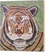Tigerish Wood Print
