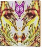 Tigress 2  Wood Print