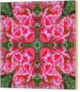Tiki Tulip Mandala Wood Print
