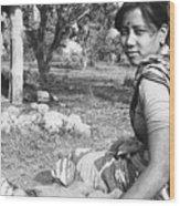Tilak Devi 1985 Wood Print