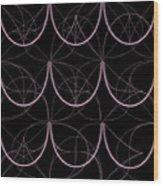 Tiles.2.301 Wood Print