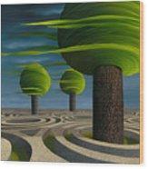 Tilia Arbora Wood Print
