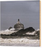 Tillamook Lighthouse Wood Print