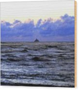 Tillamook Rock Lighthouse Wood Print