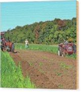 Tilled Soil   Wood Print