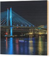 Tilikum Crossing Wood Print