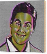 Tim Heidecker Wood Print by Fay Helfer