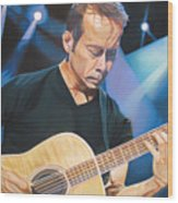 Tim Reynolds And Lights Wood Print