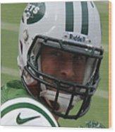 Tim Tebow - New York Jets Florida Gators - Timothy Richard Tebow Wood Print