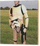 Tim Tebow Stormtrooper Wood Print