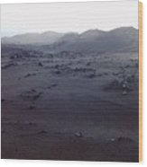 Timanfaya National Park Wood Print