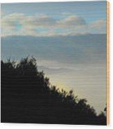 Timberholm Inn Morning View Stowe Vt Wood Print