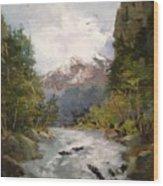 Timberlands Wood Print