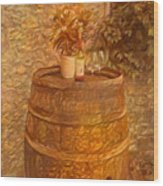 Time For Wine - 6015 Wood Print