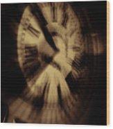 Time II Wood Print