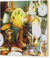 Time In A Jar Wood Print