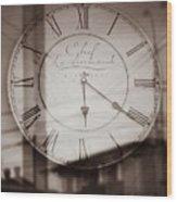 Time Is Infinite Wood Print