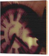 Time Ix Wood Print