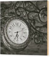 Time Passages Wood Print