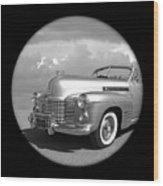 Time Portal - '41 Cadillac Wood Print